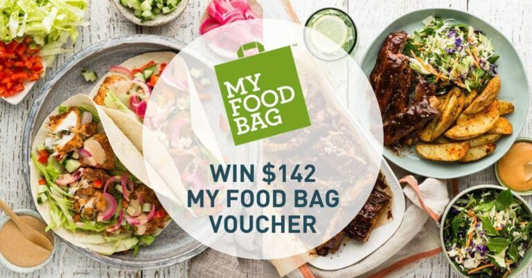 MyFoodBag Giveaway Voucher